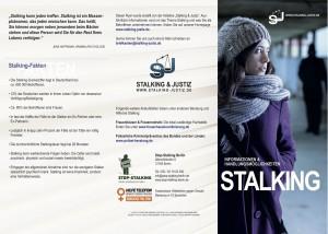 Informationsflyer Stalking&Justiz Seite 1